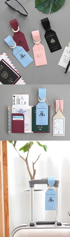 The Pieces of Moment Leather Luggage Tag is the prettiest luggage tag I've ever seen! This modern and cute luggage tag is so easy to use and it protects my luggage from being lost.