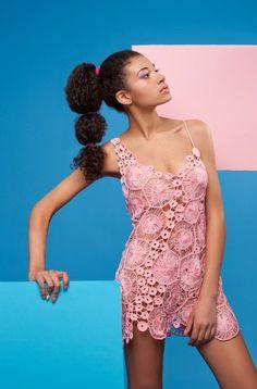 Анна Радаева crochet dress