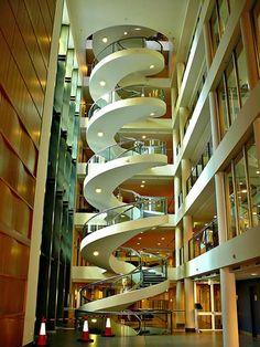 Escaliers de l'Institut Gavran à Sydney