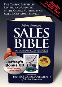 The Sales Bible New Edition Audio Book