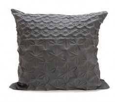 Square Textured Pillow Covers - 60x60 cm, 23.6x23.6 inch