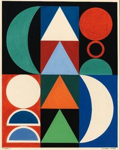 Draw & Paint | Auguste Herbin