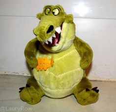#Louis #Crocodile #PrincessandFrog #Laprincesseetlagrenouille #Friend #Musicien #Plush   @LauryRow     Like my page here :: https://www.facebook.com/pages/Disneycollecbell/603653689716325?sk=timeline