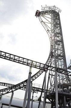 #Takabisha, World's Steepest #RollerCoaster