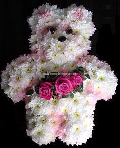 Teddy Bear Funeral Flowers Monica F Hewitt Florist Sheffield