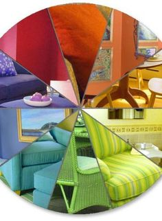 """Color wheel - """"The art of creating color schemes that lend harmony and balance within a lifespace."""""""