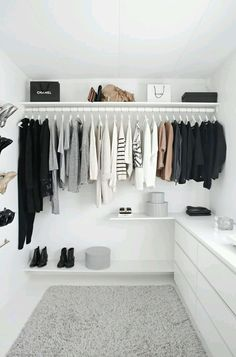 The closet is just as important as any other room in the house.