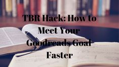 TBR Hack: How to Meet Your Goodreads Goal Faster - Playground of Randomness Reading Goals, Very Excited, Months In A Year, Book Quotes, Book Worms, Meet You, Playground, Audio Books, Hacks