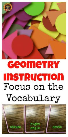 Geometry instruction