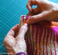 Poser des pressions... - Fleurs d'Orangette Scrappy Quilts, Coin Couture