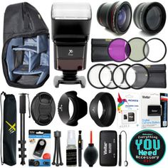 15 Best Canon Everything You Need Accessory Kit From