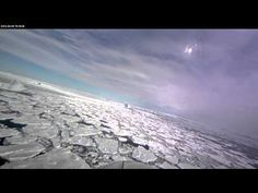 Few of us ever get to see Greenland's glaciers from 500 meters above the ice. But in this video — recorded on April 9,2013 in southeast Greenland using a cockpit camera installed & operated by the National Suborbital Education & Research Center, we see what Operation IceBridge's pilots see as they fly NASA's P-3B airborne laboratory low over the Arctic. Following a glacier's sometimes winding flow line gives IceBridge researchers a perspective on the ice not possible from satellit