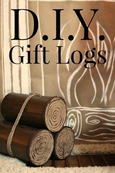 DIY: Gift Logs