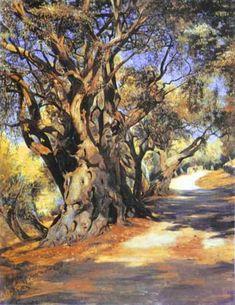 Road from Rome to Albano, 1873 - Henryk Siemiradzki