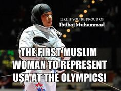 Love her! She is so inspirational! Way to go, Ibtihaj!