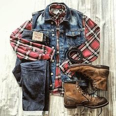 the latest trends in mens fashion and mens clothing styles Look Fashion, Daily Fashion, Mens Fashion, Fashion Outfits, Style Brut, Moda Men, Rugged Style, Mens Attire, Outfit Grid