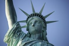 Poster: Statue Liberty New York Wahrzeichen Ellis Island, Photography For Sale, Photography Business, Monuments, New York, Statue Of Liberty Facts, Sanctuary City, Us Border, Facts For Kids