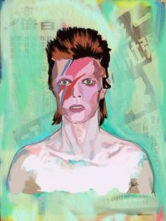 Always missed, David Bowie. Made on SketchBookPro, IpadPro and Ipencil.