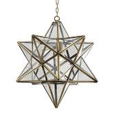 Found it at Temple & Webster - Balgowlah Simplism Brass Pendant