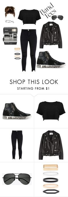 """""""Untitled #90"""" by holderafiya ❤ liked on Polyvore featuring Yves Saint Laurent, Acne Studios, Polaroid and Accessorize"""