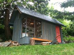 Brooklyn garden shed