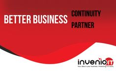 Better Business Continuity Solution, Better Partner