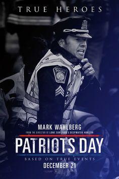 Starring Mark Wahlberg, John Goodman, J.K. Simmons   Drama, History, Thriller   Patriots Day (2016)
