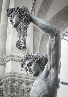 the genius of Italy, the genius of Renaissance, the genius of Cellini Statues, Greek Gods, Renaissance Art, Grafik Design, Ancient Greece, Greek Mythology, Art Plastique, Ancient Art, Art And Architecture