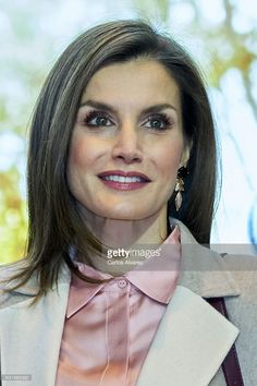 Queen Letizia of Spain attends the FITUR International Tourism Fair opening at Ifema on January 18, 2017 in Madrid, Spain.
