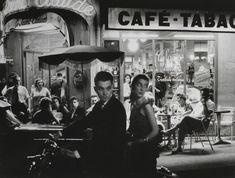 by Willy Ronis - Boulevard st Germain, Paris Saint Germain, St Germain Paris, Willy Ronis, Old Paris, Vintage Paris, Alberto Giacometti, Paris Cafe, French Photographers, Grand Palais