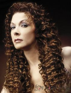 Long Curly Brown African American Lace Wigs for Women: www.fairywigs.com