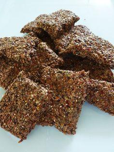 Veggie Flax Chia Crackers - Raw Recipe