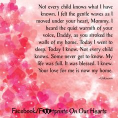 Your love for me is now my home. Making Memories Quotes, Loss Grief Quotes, Child Loss, Your Voice, Go To Sleep, Poems, Daddy, Children, Birth