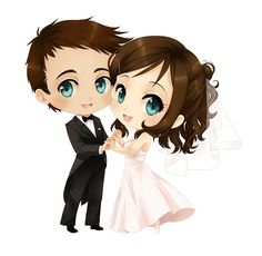 Chibi wedding