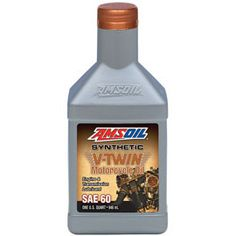 AMSOIL SAE 60 Synthetic Motorcycle Oil is a premium oil designed for those who demand the absolute best lubrication for their motorcycles. The result of extensive research, it is specially formulated to excel in all areas unique to motorcycles, including high engine RPM, wet-clutch lubrication and more.