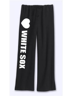 "Womens White Sox Sweatpants Black Size X-large by Mixapparelusa. $32.00. Bella. Coverstitched drawstring waistband, straight wide open bottom leg. 7.5 ounce. 100% pre-shrunk combed ring-spun cotton. Size x-large (inseam 33"" waist 20"" relaxed). A perfect pair of sweatpants for the female sports fan. A super quality and very comfortable product sold by us Mixapparelusa."