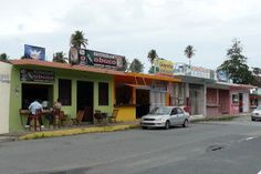 Kiosks in Luquillo Beach. Food is said to be amazing and dirt cheap. Ceviche some of best anywhere.