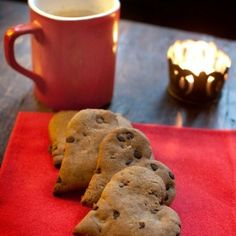 Cookies di farro all'arancia, senza burro né uova