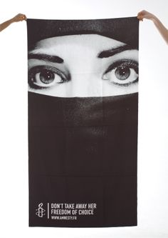 Educational document designed to investigate and raise awareness of the human rights issues involved in the French Burqa ban.
