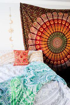 Savannah Rose Mandala Tapestry - Lady Scorpio ♡ - 2