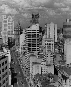 Sao Joao Avenue in 1955