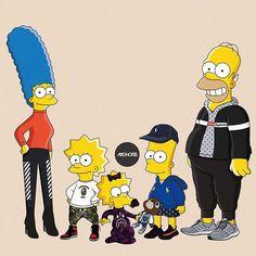 Family Lifestyle Simpson Wallpaper Iphone, Wallpaper Iphone Disney, Cartoon Wallpaper, The Simpsons, Bart And Lisa Simpson, Trill Art, Supreme Wallpaper, Hypebeast Wallpaper, Pop Art