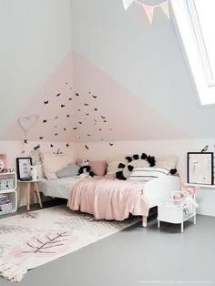Meisjeskamer met heel veel vlinders! - Kinderkamerstylist & Marjolein Bouhuizen