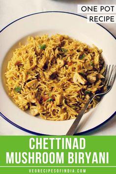 Indian Vegetarian Dinner Recipes, Mushroom Recipes Indian, Healthy Indian Recipes, Arabic Recipes, Easy Samosa Recipes, Veg Recipes, Cooking Recipes, Cooking Tips, Noodle Recipes