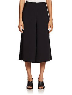 Elizabeth and James Frayed Gaucho Pants