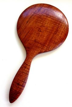 Fiddle Back Koa Hand Mirror by UpcountryDesign on Etsy