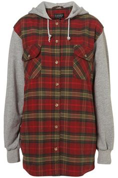 "Topshop is telling me that ""90s grunge fashion"" is back in style. Pretty sure I owned this piece in the actual 90s. Pretty sure that's where it should stay."
