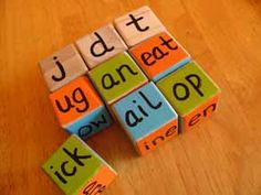 Make your own word blocks.