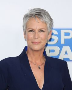 We love a pixie haircut, especially when it's a gray pixie like Jamie Lee Curtis'.