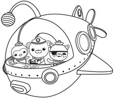 Coloring page The Octonauts 10